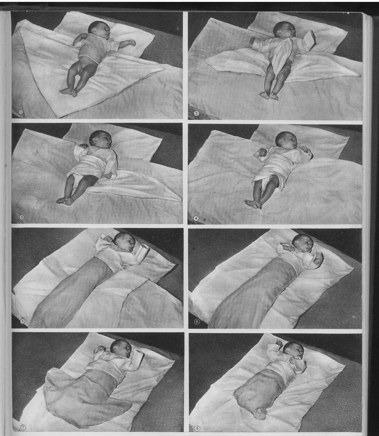 Как пеленать пошаговое фото